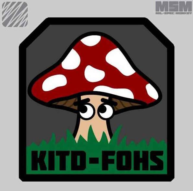 Mil-Spec Monkey KITD-FOHS Patch KITD-FOHS