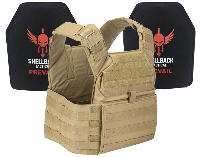 Shellback Tactical Banshee Active Shooter Kit with IV Plates SBT-BANRIF-ASK