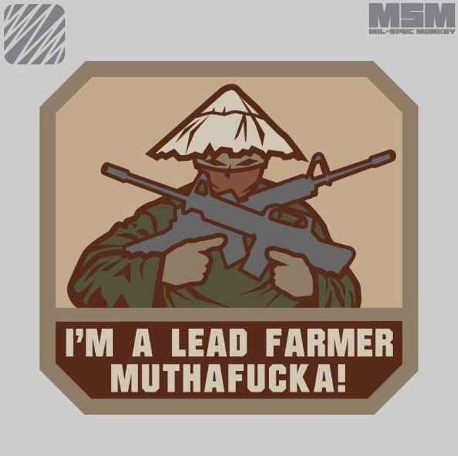 Mil-Spec Monkey Lead Farmer Patch LEADFARMER
