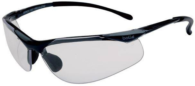 Bolle Contour Safety Glasses with Clear PC ASAF Lenses 40044-BO
