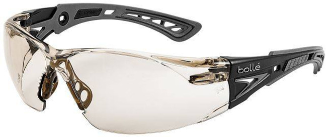 Bolle Rush Safety Glasses with CSP PC ASAF Platinum Lenses 40209-BO