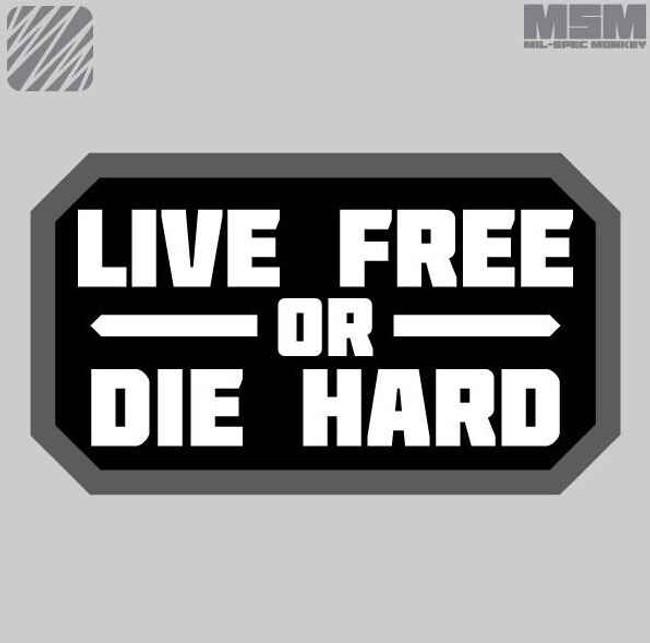 Mil-Spec Monkey Live Free Patch LIVEFREE