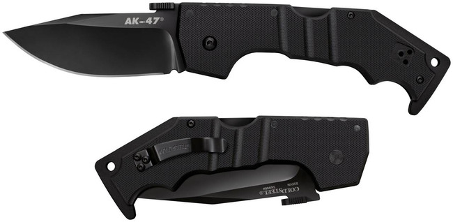 Cold Steel AK-47 Tactical Folding Knife 58M 705442018209