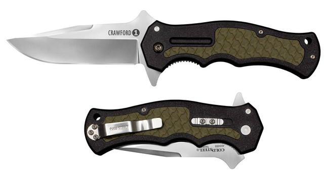 Cold Steel Crawford Model 1 Folding Knife 20MWC 705442018674