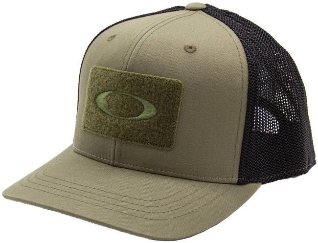 Oakley SI 110 Snapback Cap worn olive