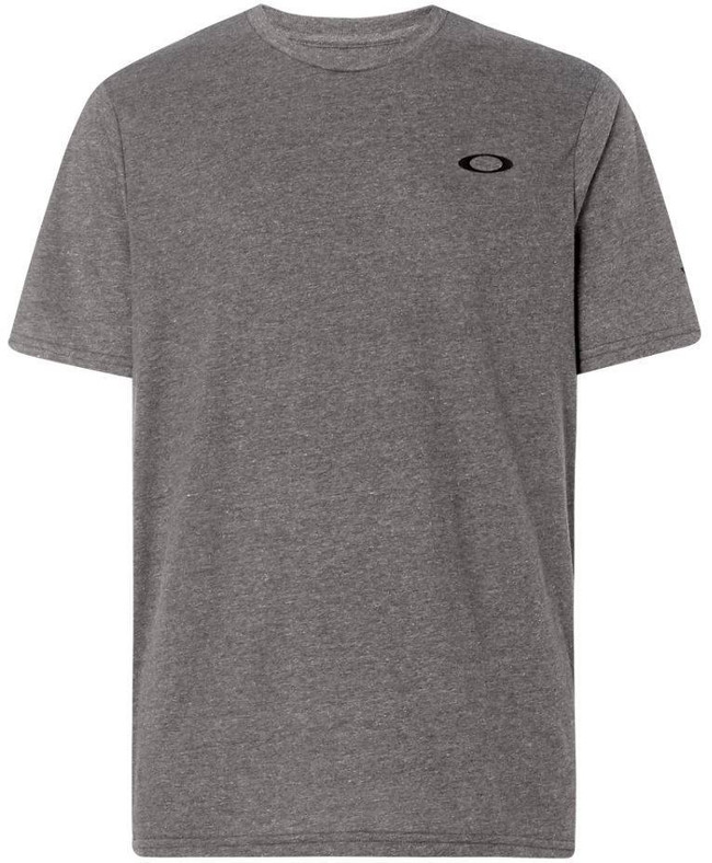Oakley SI Flag T-Shirt Athletic Heather Gray front