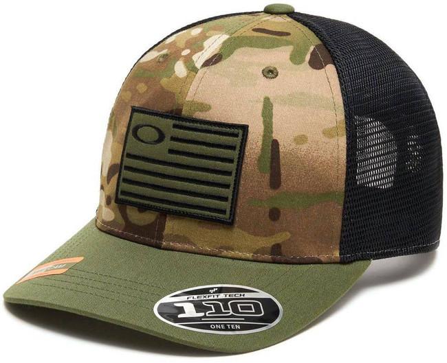 Oakley SI Multicam Flag 110 Snapback Cap FOS900170