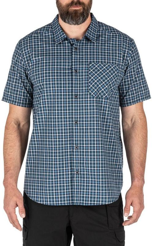 5.11 Tactical Carson Plaid Short Sleeve Shirt 71394 71394