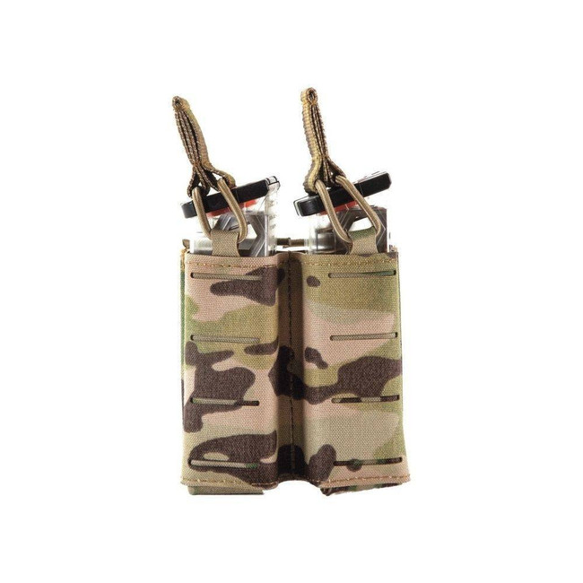 Sentry Double Pistol Magazine Pouch with Side by Side Staggered Column 25NP04