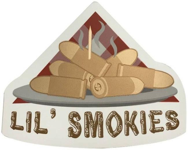LA Police Gear Lil Smokies 3.2 x 2.8 Sticker SMOKIES-ST