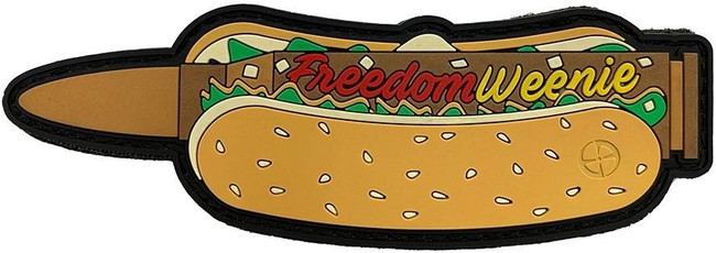 LA Police Gear Freedom Weenie Patch WEENIE 840041777369