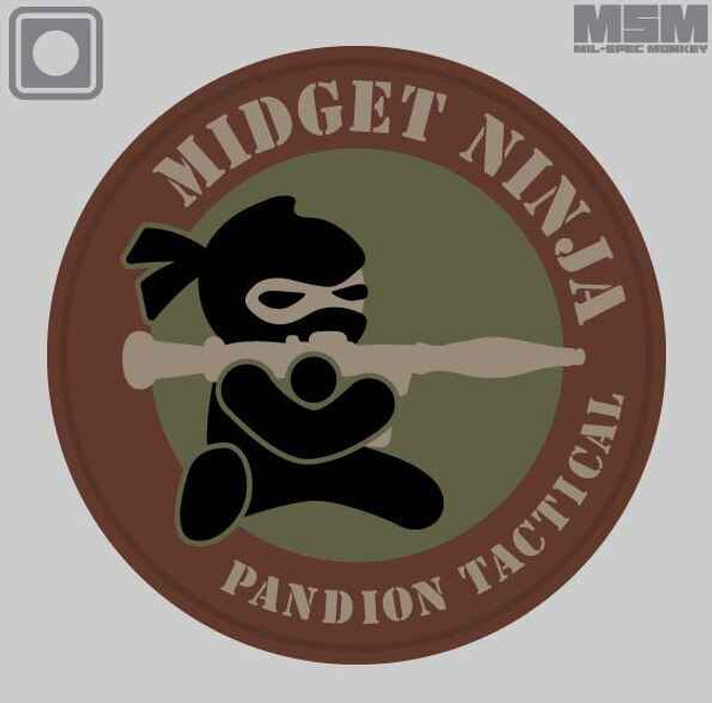 Mil-Spec Monkey Midget Ninja RPG Patch MIDGETNINJARPG