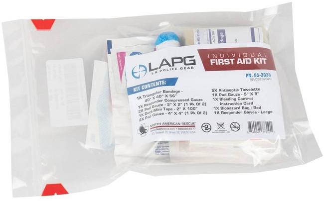 LA Police Gear NAR Individual First Aid Kit 85-3038 840041773101