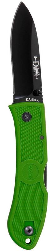 Ka-Bar Knives Kelly Green Dozier Hunter Folding Knife 4062KG 617717604621