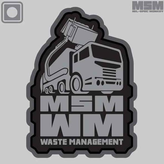 Mil-Spec Monkey MSM Waste Management MSMWASTEMANAGEMENT
