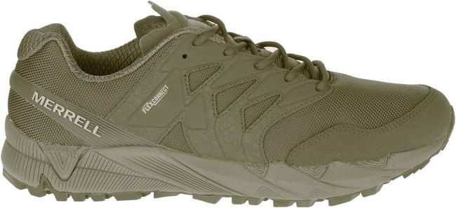 Merrell Mens Agility Peak Dark Olive Tactical Shoe J099581 J099581