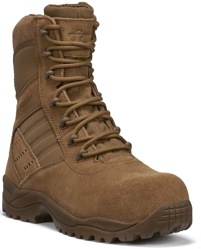 Tactical Research Mens Guardian Coyote Hot Weather Lightweight Composite Toe Boot TR536CT