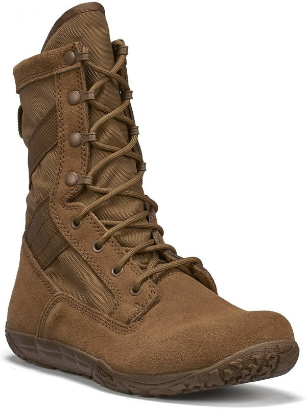 Tactical Research Mens Minimalist Coyote Combat Boot TR105