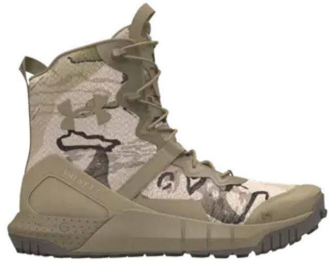 Under Armour Micro G Valsetz Camo Tactical Boot 3025040