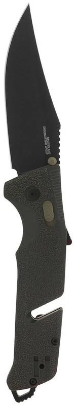 SOG Trident AT Olive Drab Folding Knife 11-12-03-57 729857010849