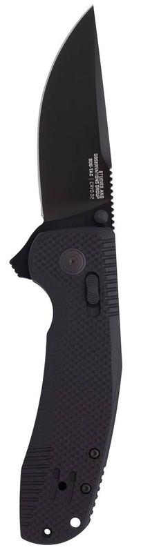 SOG SOG-TAC XR Blackout Folding Knife 12-38-01-57 729857009164