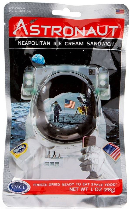 Backpackers Pantry Astro Neopolitan Ice Cream Sandwich - 1 Serving 102204