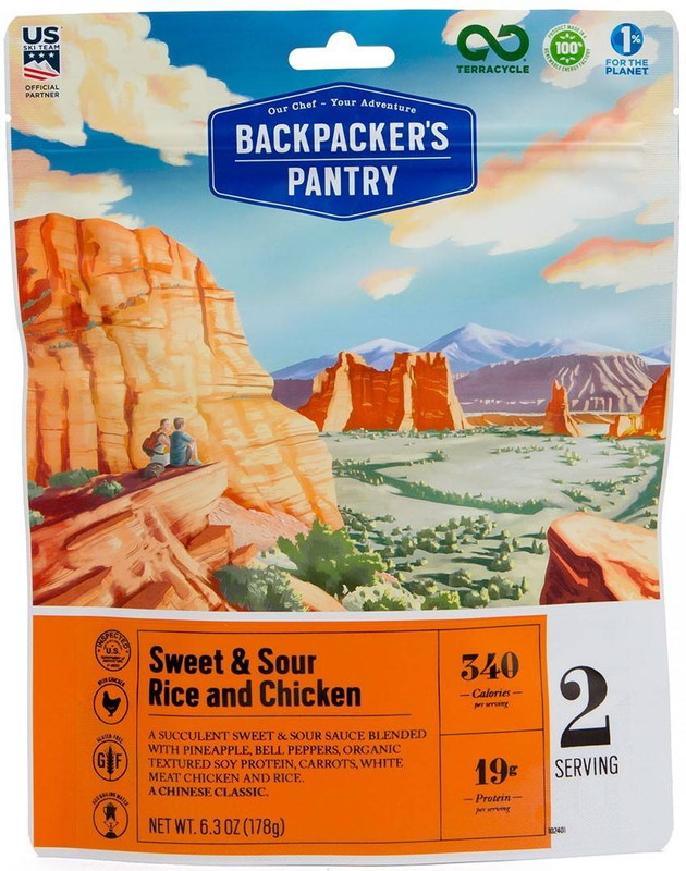 Backpackers Pantry Sweet and Sour Rice and Chicken - 2 Servings 102401