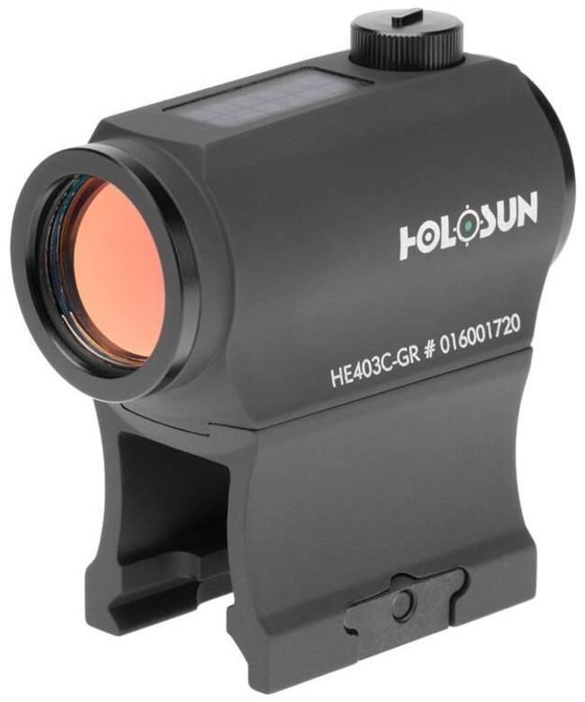 Holosun HE403C-GR 2 MOA Green Dot Sight HE403C-GR 605930624809