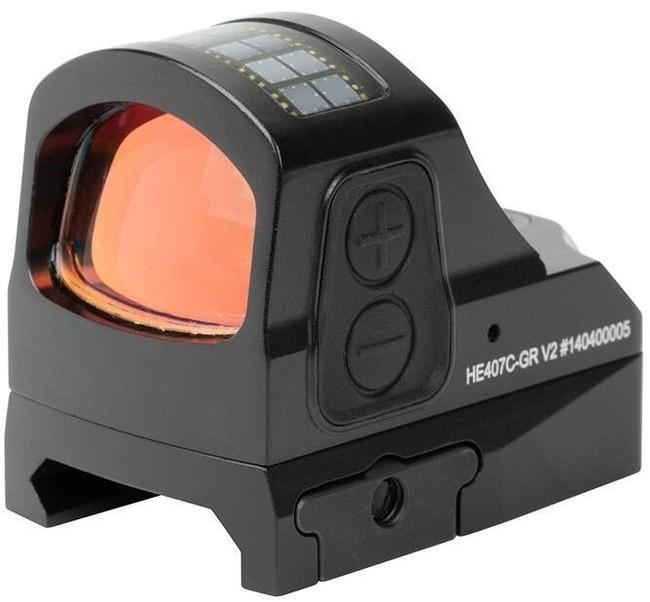 Holosun HE407C-GR 2 MOA Green Dot Reflex Sight HE407C-GR 605930624977