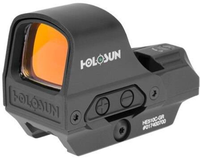 Holosun HE510C-GR Green Circle Dot Reflex Sight with QD Mount HE510C-GR 605930624878