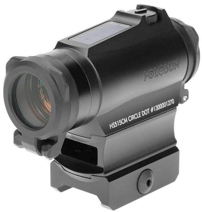 Holosun HS515CM Red Circle Dot Micro Sight with QD Mount HS515CM 605930624700