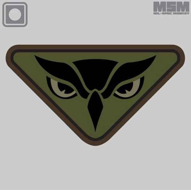 Mil-Spec Monkey Owl Head Patch OWLHEAD