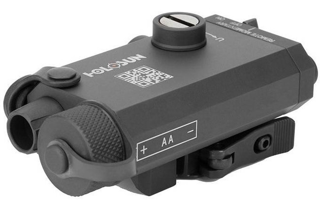 Holosun LS117R Red Laser Aiming Device with QD Mount LS117R 605930624618