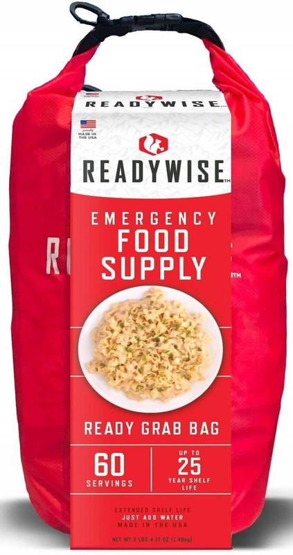 Ready Wise 7 Day Emergency 60 Serving Grab N Go Dry Bag RW01-641 855491007430