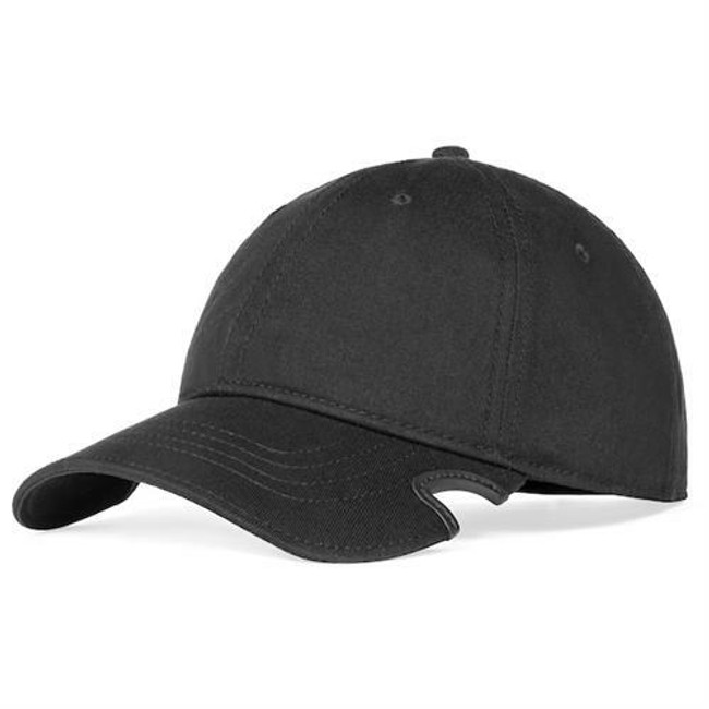 Notch Classic Black Blank Adjustable Hat front