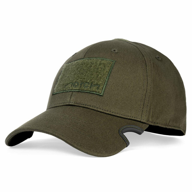 Notch Classic OD Green Operator Fitted Hat front