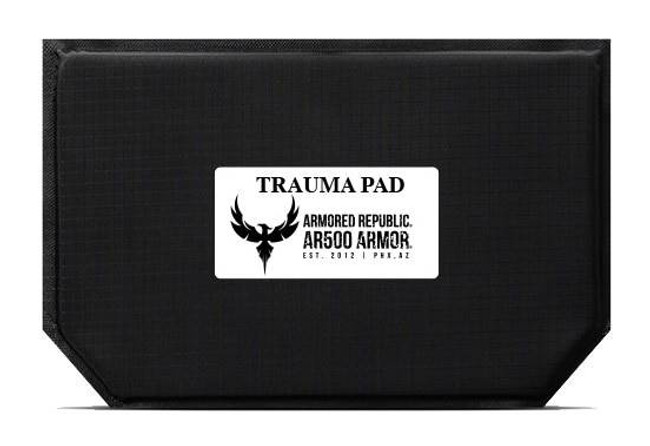 AR500 Armor Blunt Force Trauma Pad For Abdominal Area-9.5 x 6 TPAD956