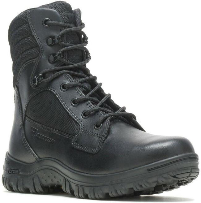 Bates Women's Cyren Tall Side-Zip Black Boot