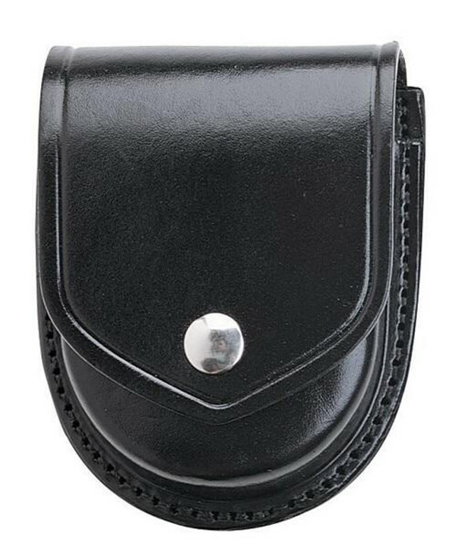 Aker Model 500 Round Handcuff Case plain chrome