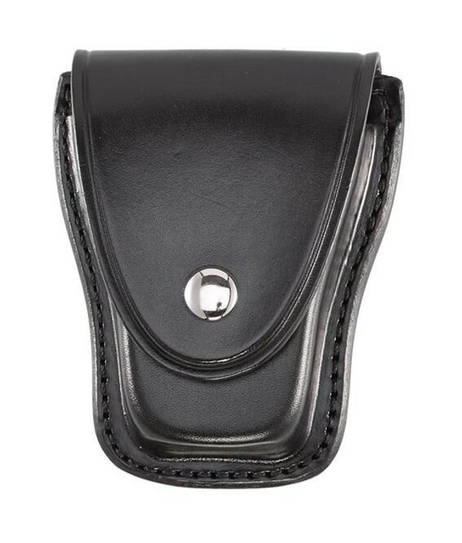 Aker Model 501 Teardrop Handcuff Case plain chrome