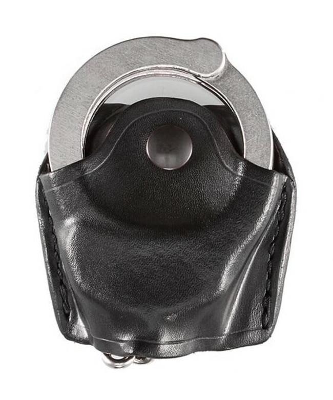 Aker Model 506 Open Top Chain Handcuff Case black plain