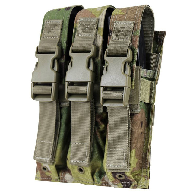 Condor Scorpion OCP Triple MP5 Magazine Pouch MA37-800 022886275495