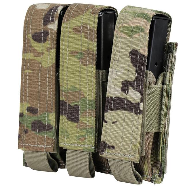 Condor Scorpion OCP Triple Pistol Magazine Pouch MA52-800 022886275617