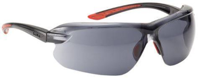 Bolle IRI-S Safety Glasses with Smoke Lenses 40182