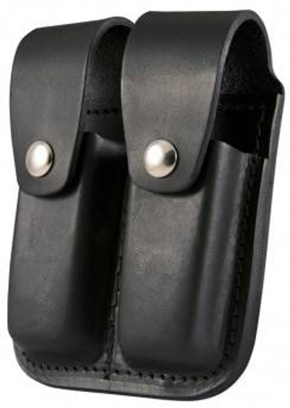Boston Leather Double Mag Holder for 45MM 5602-BO