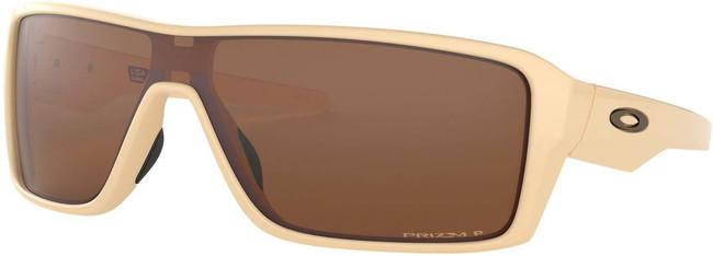 Oakley Ridgeline Desert Tan Sunglasses with Prizm Tungsten Polarized Lenses OO9419-1127 888392403797