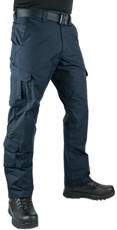 LA Police Gear Men's Stretch EMS Pants - Navy