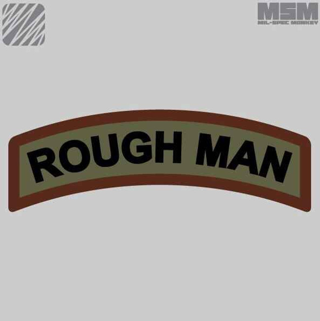 Mil-Spec Monkey Rough Man Patch ROUGHMAN