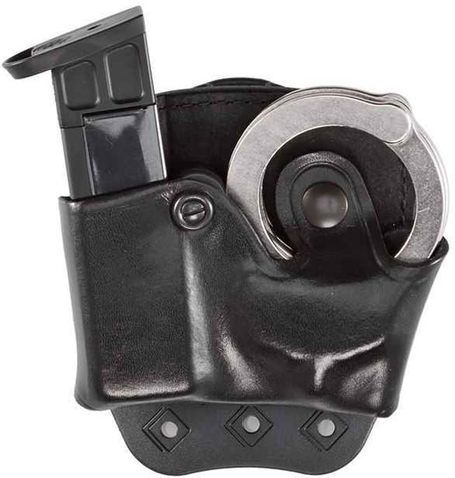 Aker Model 519 D.M.S. Cuff & Mag Combo Pouch black plain