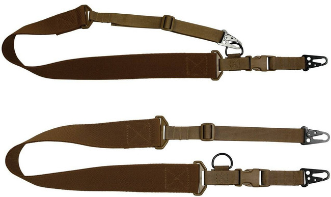 """Red Rock Outdoor Gear C2: 2-to-1 Point 2"""" Tactical Sling Coyote"""